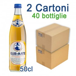 2 Cartoni Club-Mate 50cl - 40 Bottiglie