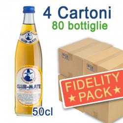 4 Cartoni Club-Mate 50cl - 80 Bottiglie