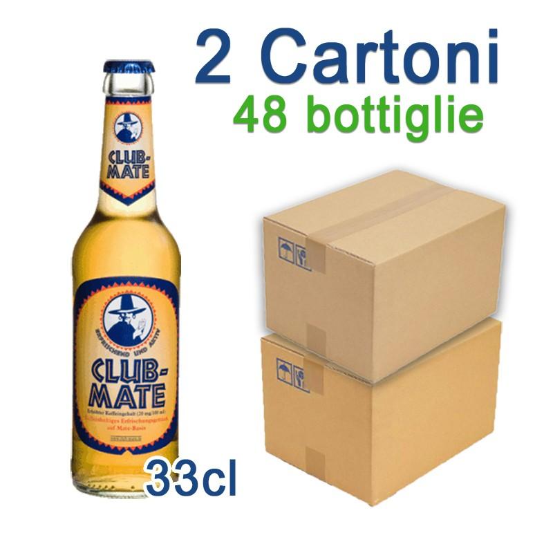 2 Cartoni Club-Mate 33cl - 48 Bottiglie