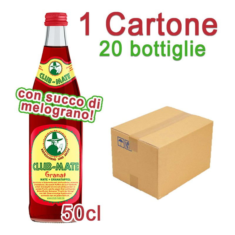 1 Cartone Club-Mate Granat - 20 Bottiglie