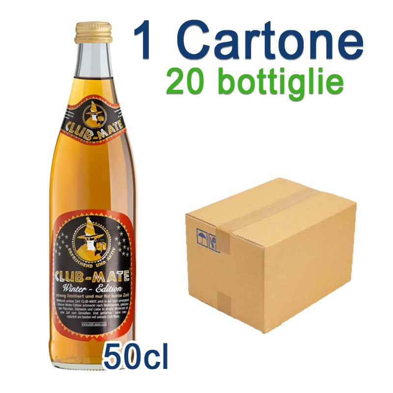 1 Cartone Club-Mate Winter Edition - 20 Bottiglie